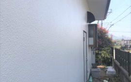 壁の塗装工事