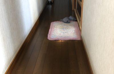 床重ね張り工事