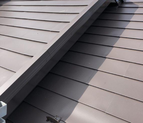 屋根重ね張り