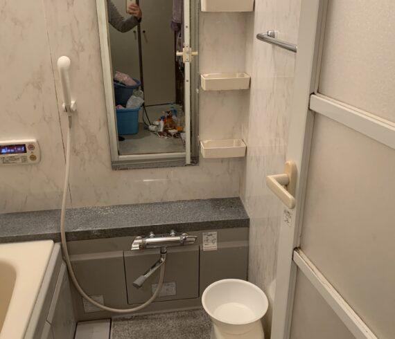 浴室クリーニング後