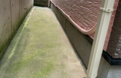 基礎防水工事及び土間洗浄