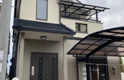外壁屋根塗装工事前